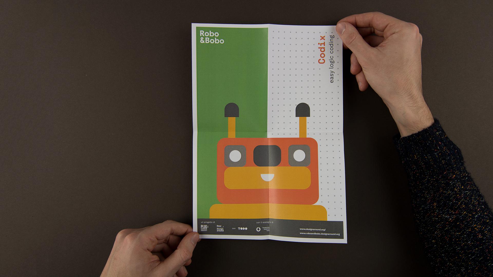 Robo&Bobo branding by Isabela Freire