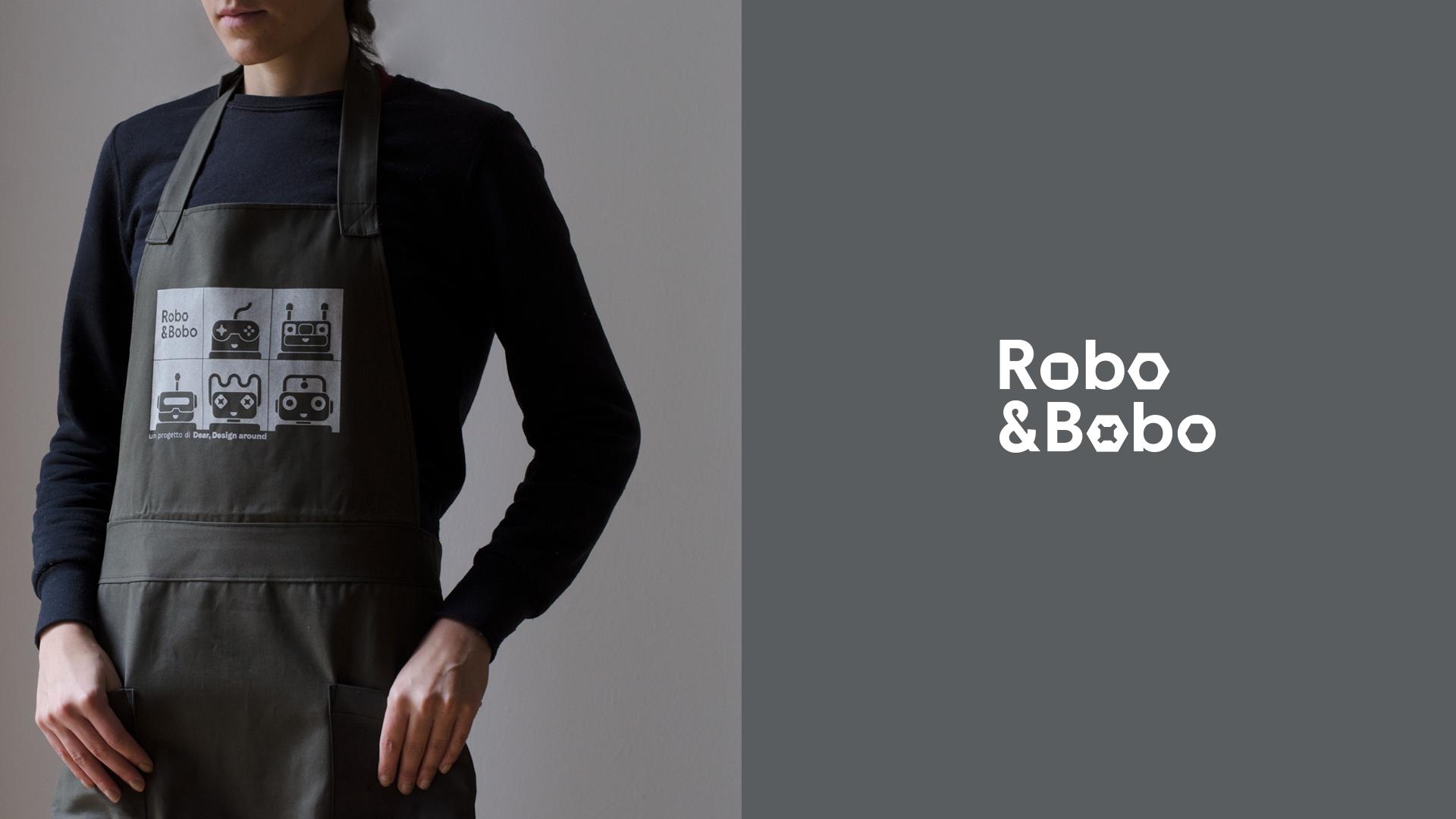 Robo & Bobo branding by Isabela Freire